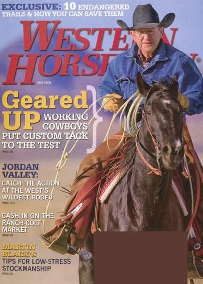 Western Horseman Cover - 6/1/2008