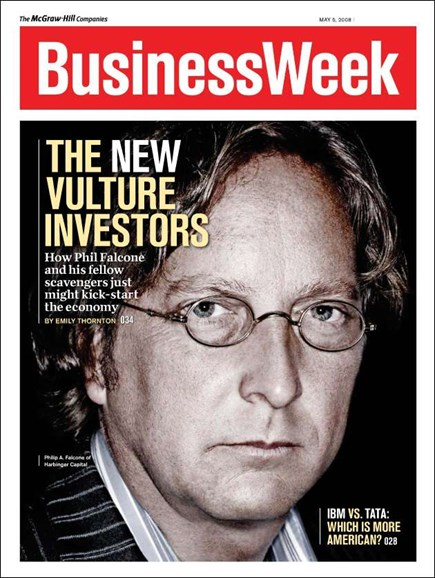 Bloomberg Businessweek Cover - 5/5/2008