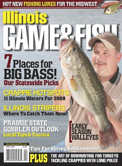 Illinois Game & Fish Cover - 4/1/2008