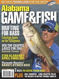 Alabama Game & Fish   4/1/2008 Cover