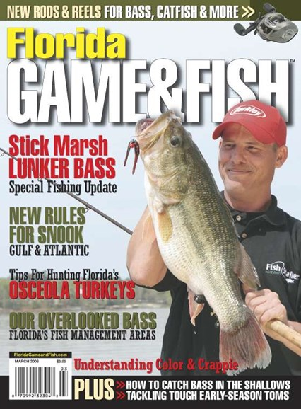Florida Game & Fish Cover - 3/1/2008