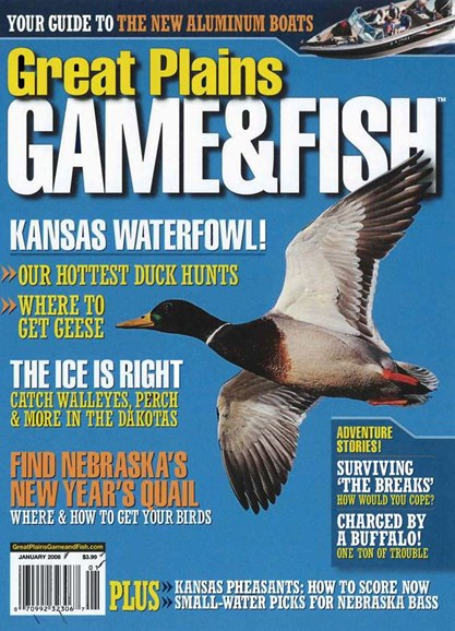 Great Plains Game & Fish Cover - 1/1/2008