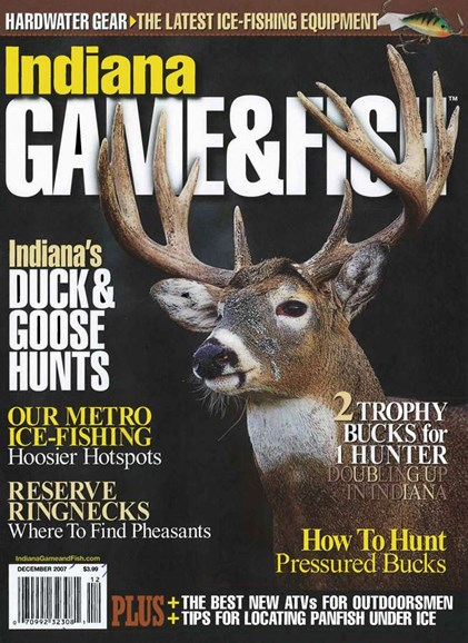 Indiana Game & Fish Cover - 12/1/2007