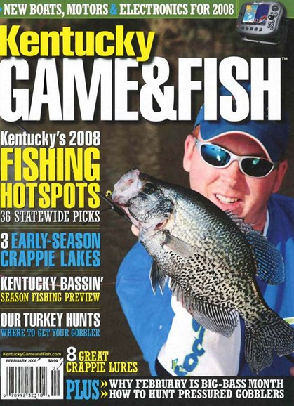Kentucky Game & Fish Cover - 2/1/2008