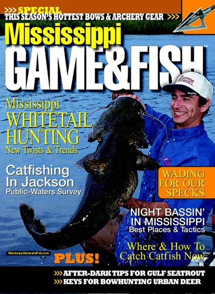 Mississippi Game & Fish Cover - 4/1/2008