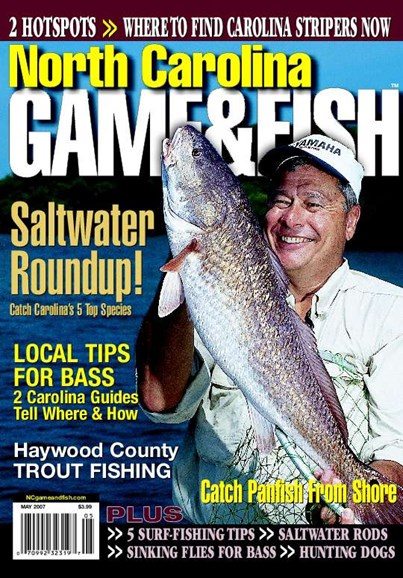 North Carolina Game & Fish Cover - 7/1/2007