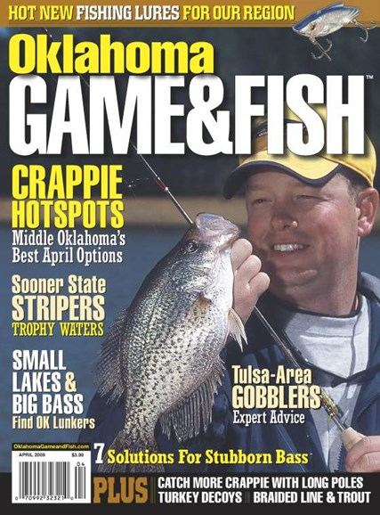 Oklahoma Game & Fish Cover - 4/1/2008