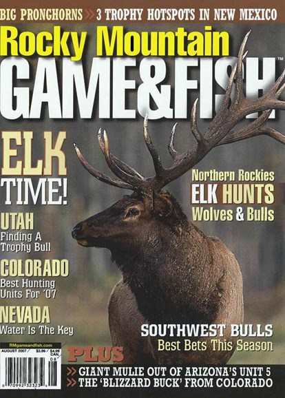 Rocky Mountain Game & Fish Cover - 8/1/2007