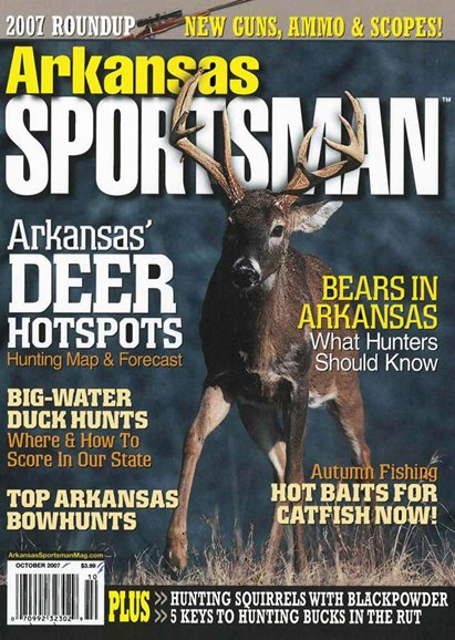 Arkansas Sportsman Cover - 10/1/2007
