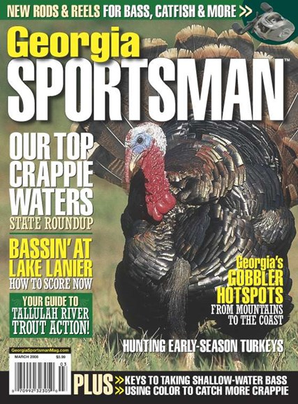 Georgia Sportsman Cover - 3/1/2008