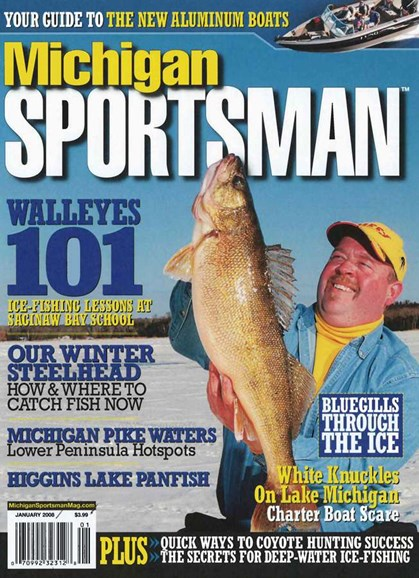 Michigan Sportsman Cover - 1/1/2008