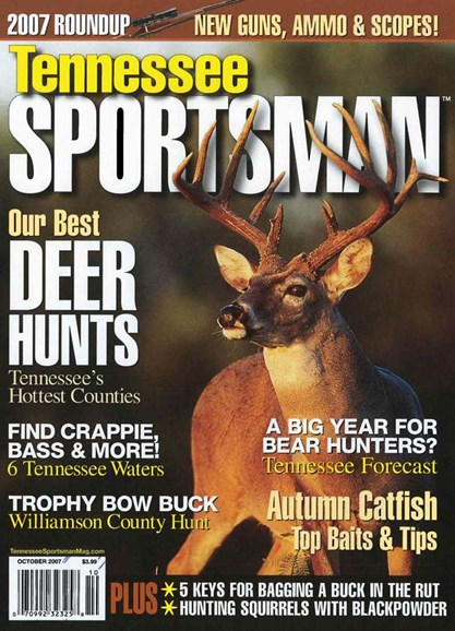 Tennessee Sportsman Cover - 10/1/2007