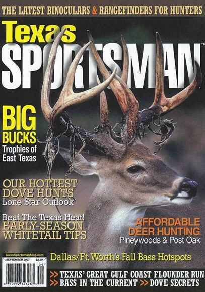 Texas Sportsman Cover - 9/1/2007