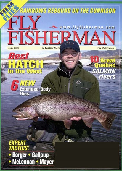 Fly Fisherman Cover - 5/1/2008