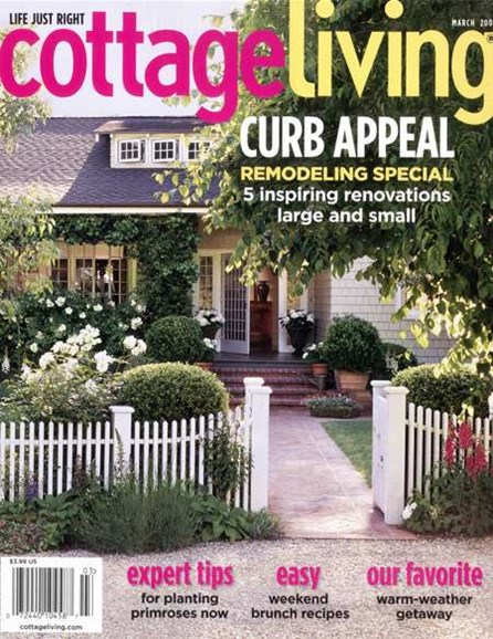 Cottage Living Cover - 3/1/2008