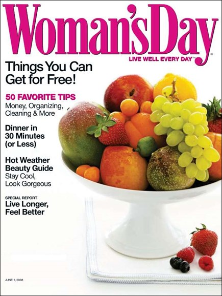 Woman's Day Cover - 6/1/2008