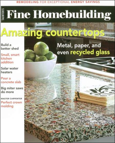 Fine Homebuilding Cover - 5/1/2008