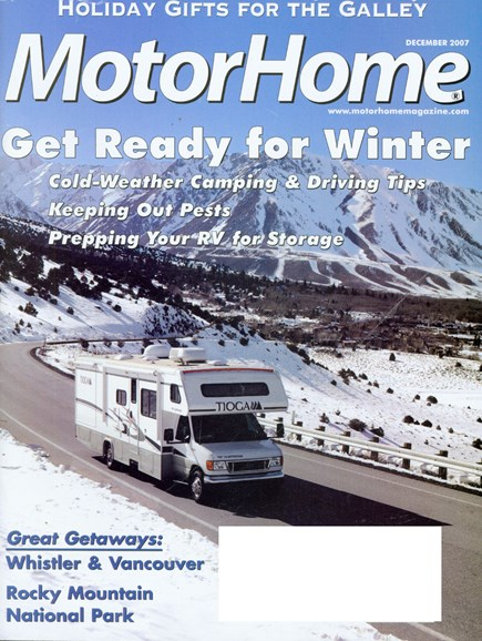 MotorHome Cover - 12/1/2007