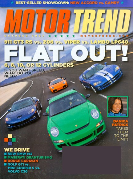 Motor Trend Cover - 10/1/2007