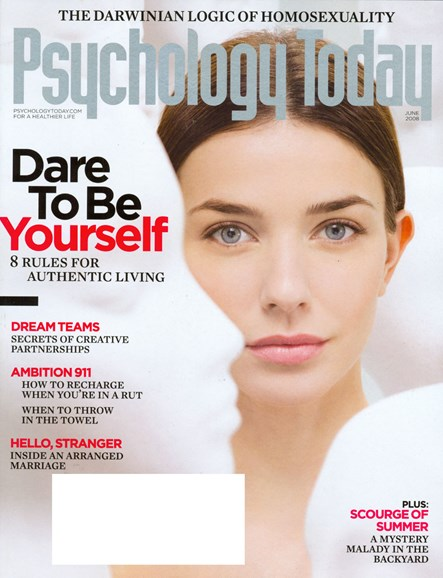 Psychology Today Cover - 10/1/2007