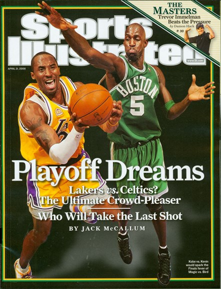 Sports Illustrated Cover - 4/21/2008