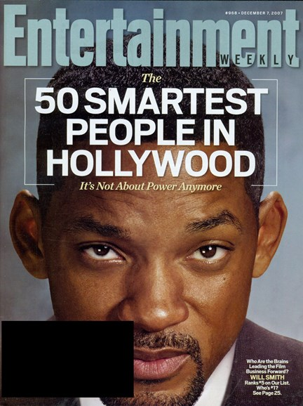 Entertainment Weekly Cover - 12/1/2007