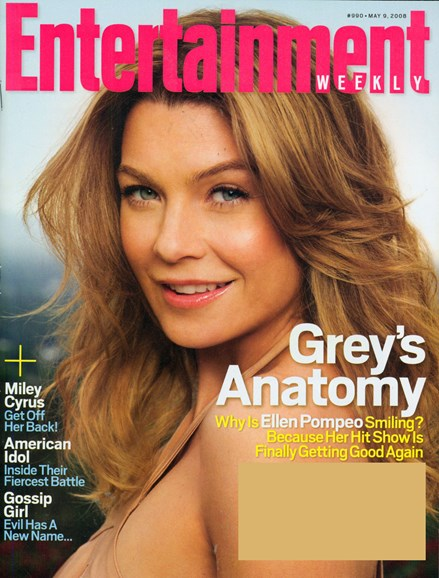 Entertainment Weekly Cover - 5/9/2008