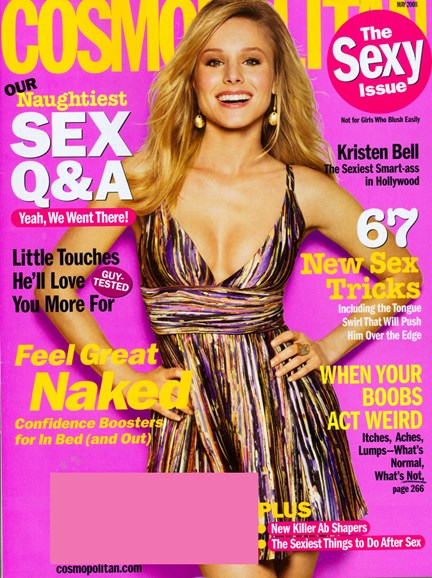 Cosmopolitan Cover - 5/1/2008