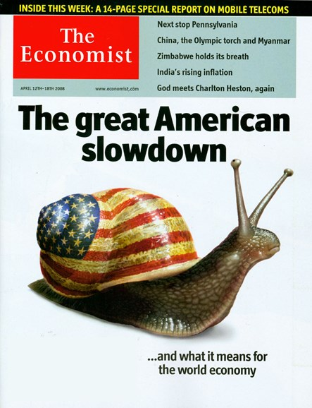 The Economist Cover - 4/1/2008