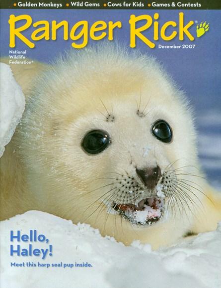 Ranger Rick Cover - 12/1/2007