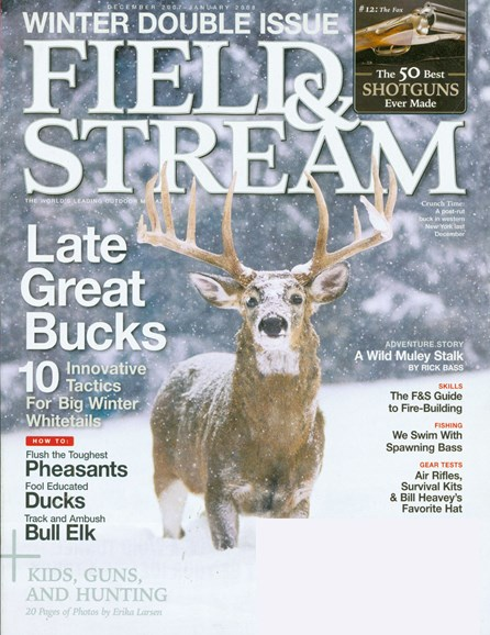 Field & Stream Cover - 12/1/2007