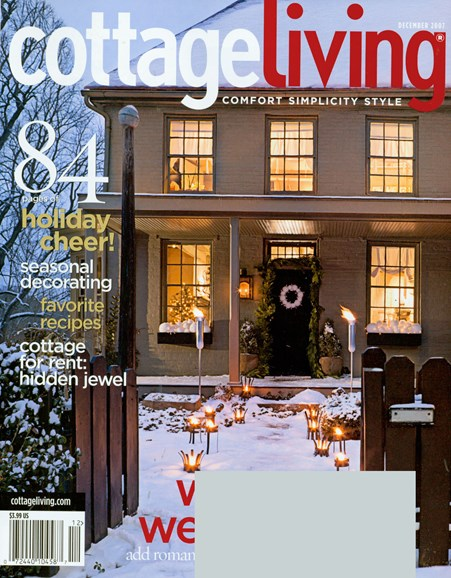 Cottage Living Cover - 12/1/2007