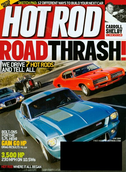 Hot Rod Cover - 5/1/2008