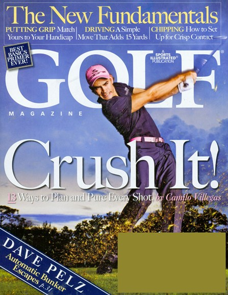 Golf Magazine Cover - 3/1/2008