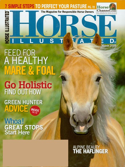 Horse Illustrated Cover - 3/1/2008