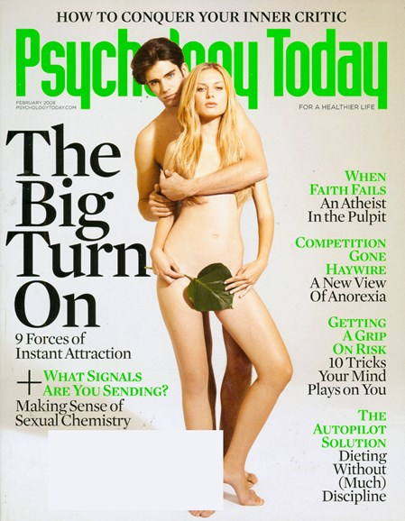 Psychology Today Cover - 2/1/2008