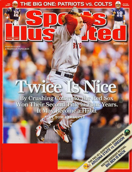 Sports Illustrated Cover - 11/1/2007
