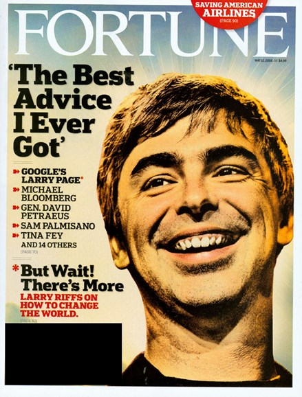 Fortune Cover - 5/1/2008