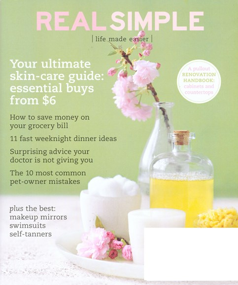 Real Simple Cover - 5/1/2008
