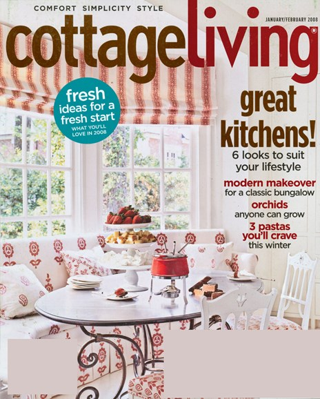 Cottage Living Cover - 1/1/2008