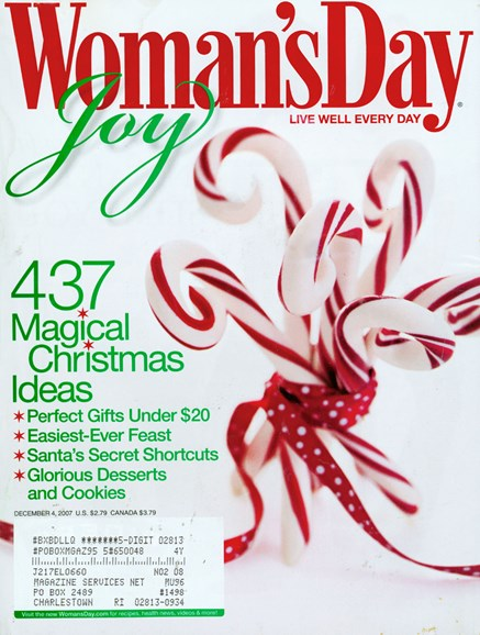 Woman's Day Cover - 12/4/2007