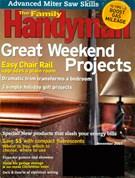 Family Handyman Magazine 11/1/2007