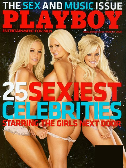 Playboy Cover - 3/1/2008