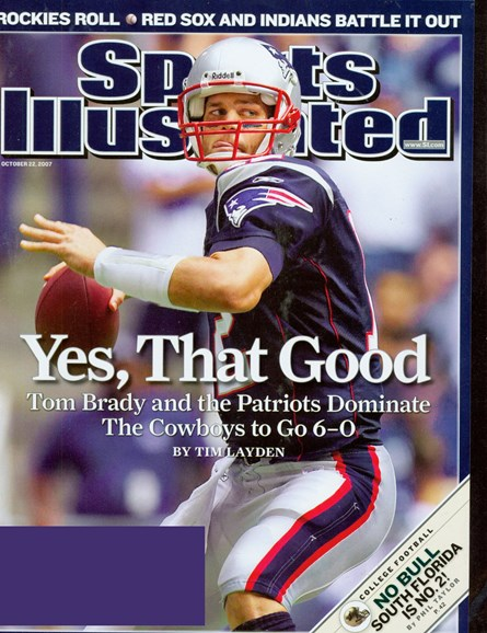 Sports Illustrated Cover - 10/1/2007