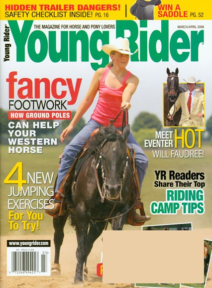 Young Rider Cover - 4/1/2008