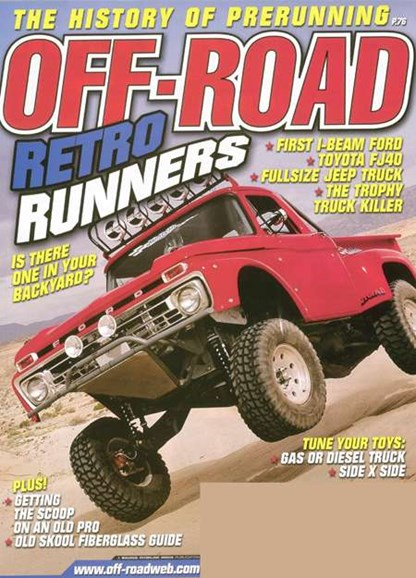 Dirt Sports & Off-Road Cover - 6/1/2008