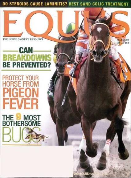 Equus Cover - 5/1/2008