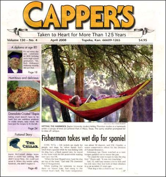 Capper's Cover - 5/1/2008