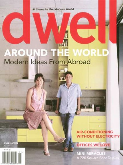 Dwell Cover - 5/1/2008