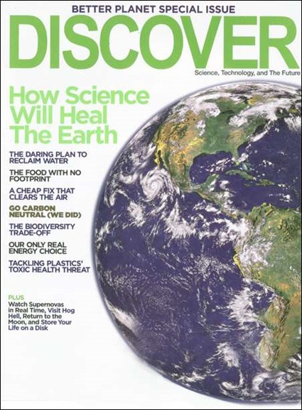 Discover Cover - 5/1/2008